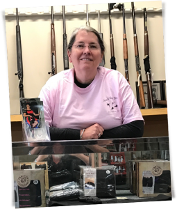 Carol Drye, Drye's Gun Shop